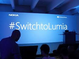 Are you sure you want to switch to lumia?