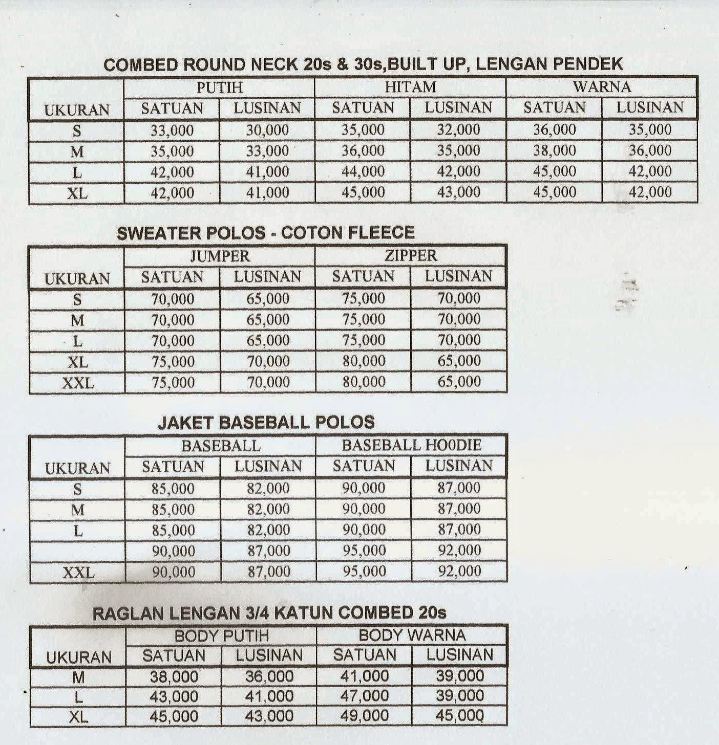 Polos Djawa Clooth 2014 Size L Kaos Cotton Combed Lengan Panjang 20s Handphone 085695502603 Pin 7ed25006