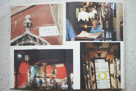 Polpo cookbook, market photo spread