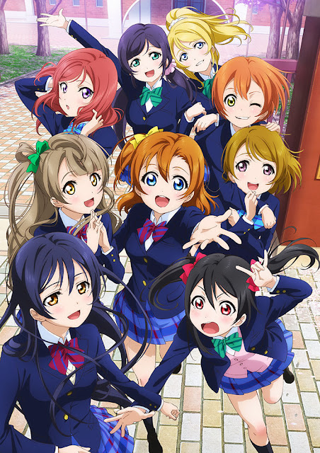 love live! school idol project anime cover large