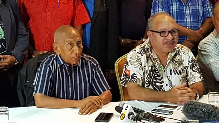 PNG Prime Minister Peter O'Neill announces resignation