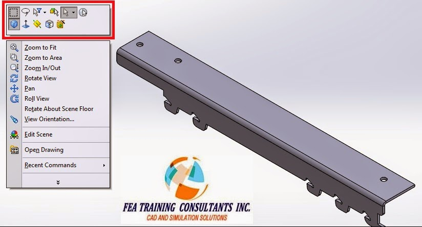 toolbar customization in solidworks 2015