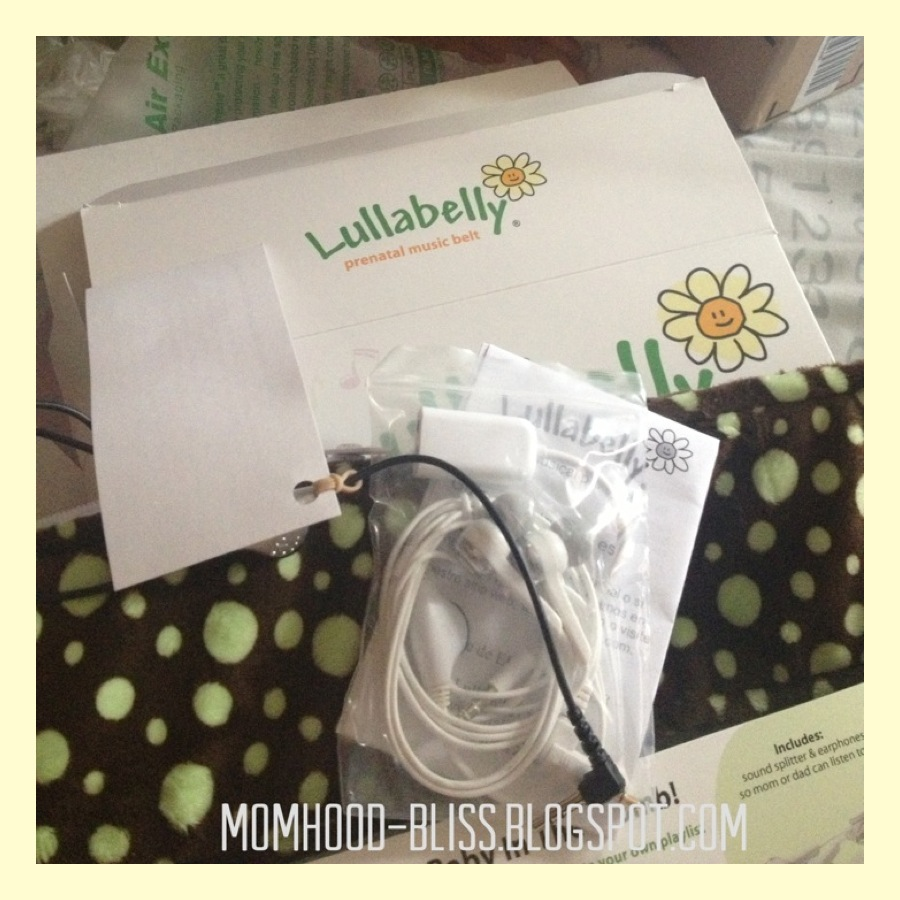 momhood bliss our baby's first gadget lullabelly prenatal  - the package came with the belt which is of soft material it islightweight machine washable and easy to wear there's a large pocketinside where you can