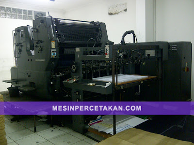 Heidelberg SORSZ - 2 Color printing machine