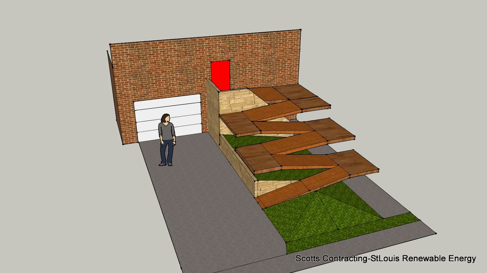 StLouis Renewable Energy Design Build ADA Wheelchair Ramp