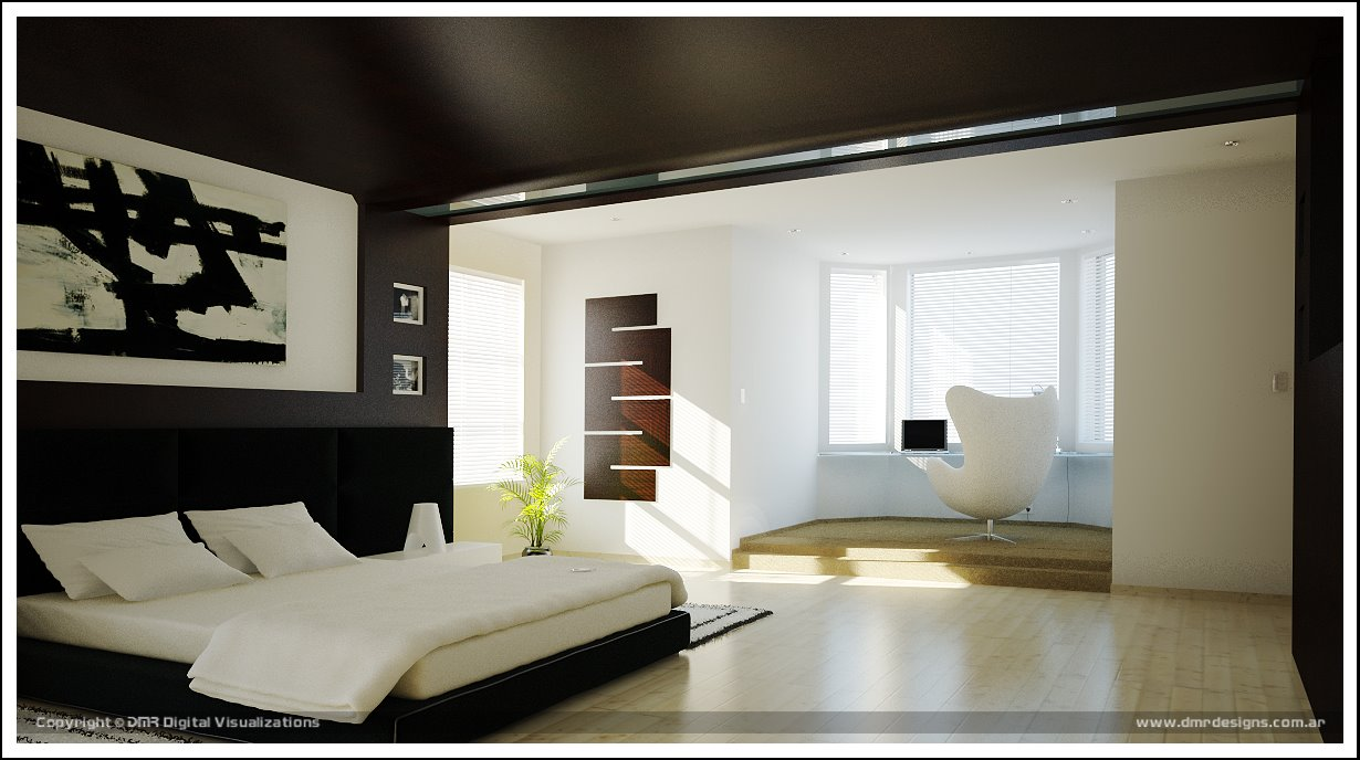 Home interior design decor amazing bedrooms for Bedroom layout ideas