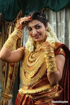 KERALA WEDDING bangle MAKE UP