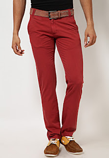 Maroon coloured Trouser
