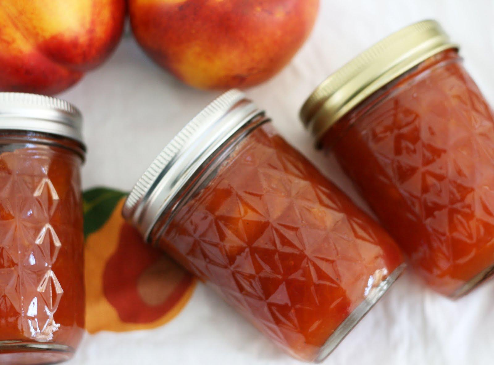 Easy Nectarine Jam In Jennie S Kitchen