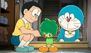 Wallpaper gambar Doraemon dan Nobita