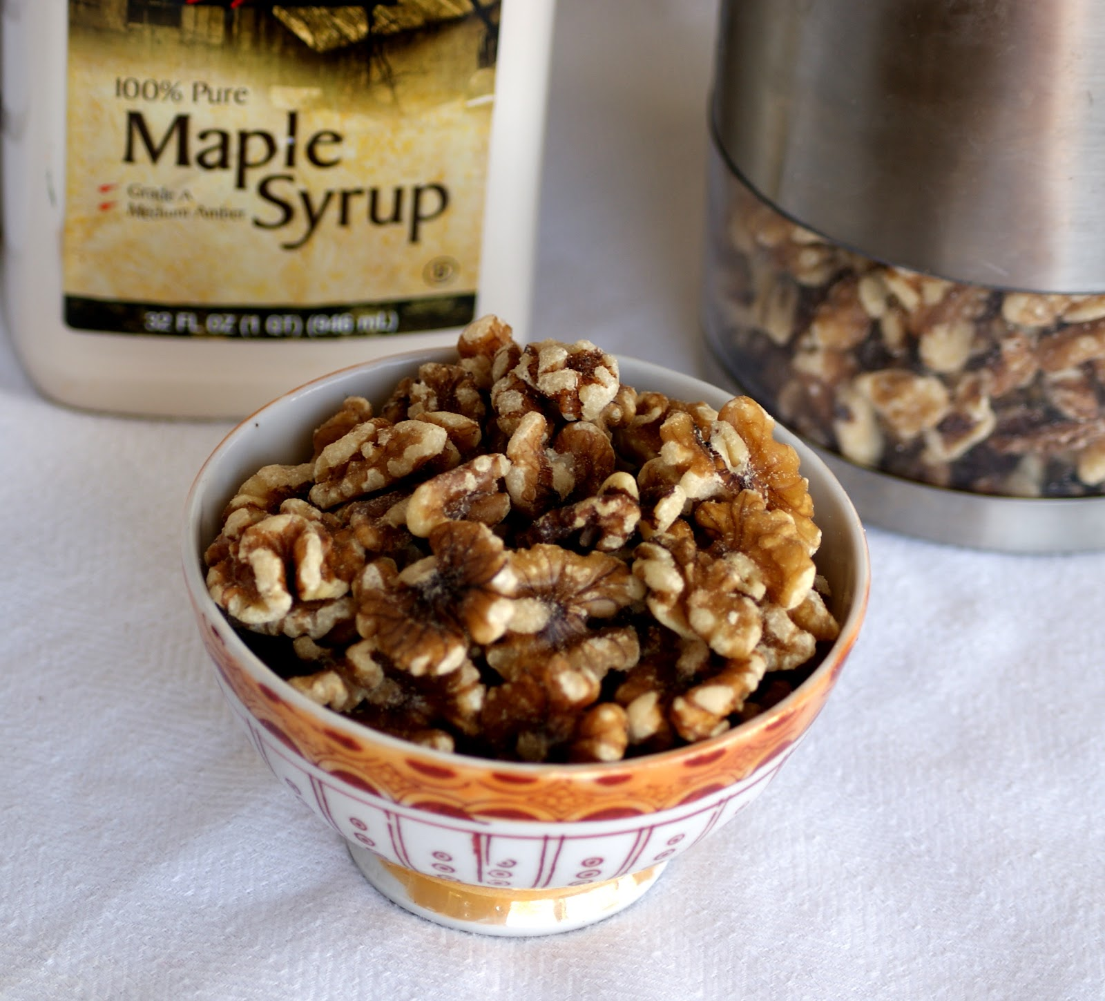 Dil Se..: Maple Glazed Walnuts / Candied Walnuts