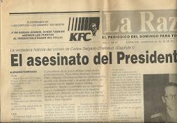 EL ASESINATO DEL PRESIDENTE
