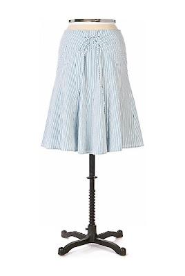 Anthropologie Racquet Club Skirt