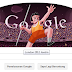 london 2012 javelin  logo google hari ini