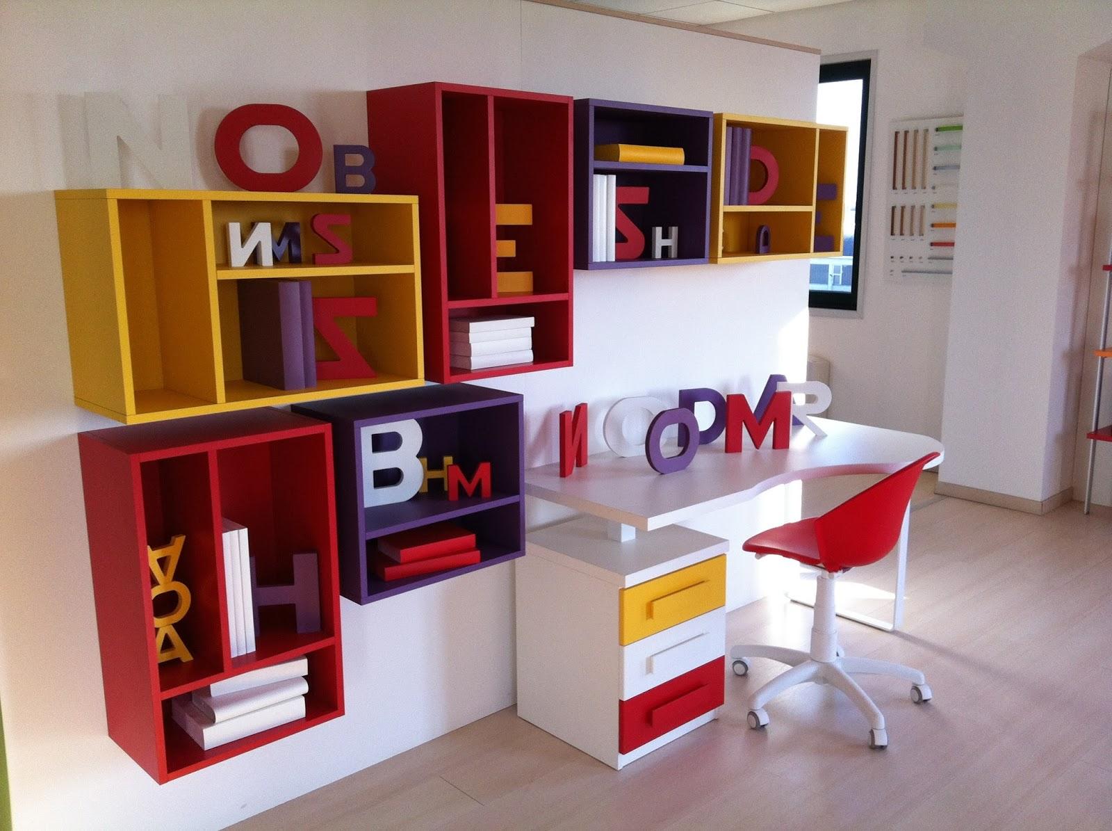 Bonetti camerette bonetti bedrooms: scrivanie e librerie