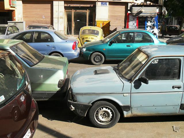 Парковка авто в Каире
