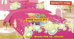 Harga Sprei Bonita – Beauty Pink Uk. 180×200 Jual