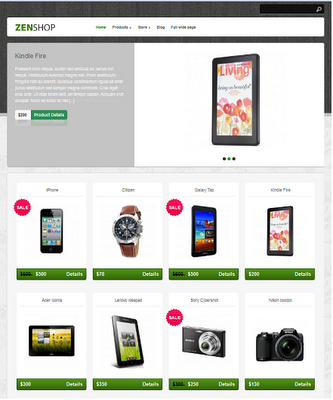 ZenShop WordPress Thems