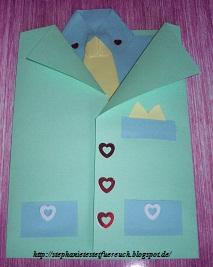 Stéphanies Shopping Und Testblog Karte Zum Vatertag Mit Hemd Und