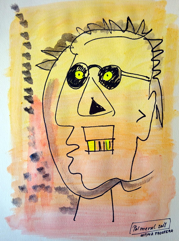Cabeza. Homenaje a Basquiat