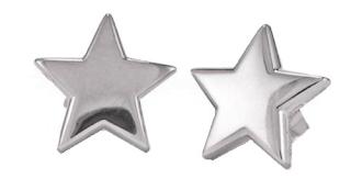 pendientes de estrella de plata de yanes young
