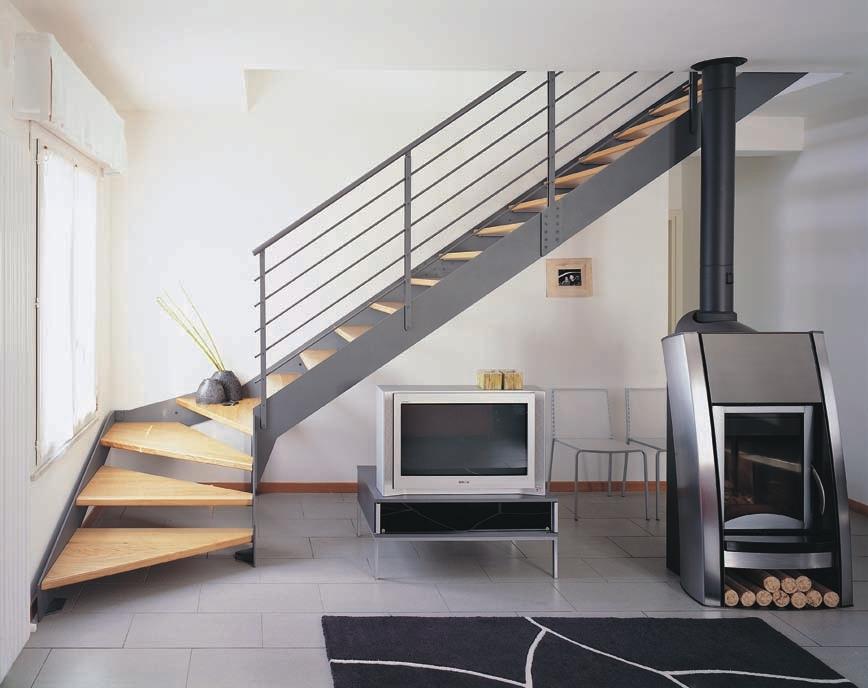 Preferenza Scale in ferro by Vanzo Ferro Battuto e figlio snc - qualità made  SS57