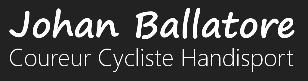 Johan Ballatore - Coureur Cycliste Handisport - Team Cofidis