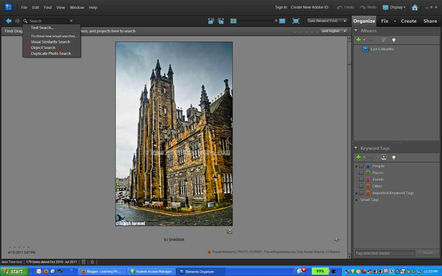 New features in 10th version of adobe photoshop elements object for me elements organizer is main component so starting with new features in elements organizer baditri Images