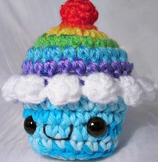 Cupcake Amigurumi Patron Gratis : crochetingclub: amigurumi I: cupcake
