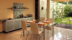 contoh ruang makan rumah minimalis terbaru modif rumah bagus