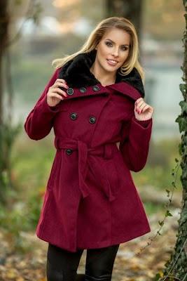 Palton dama bordo