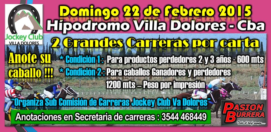 VA DOLORES - CARTA 22