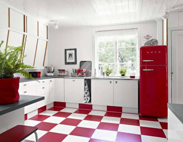 Cosas de palmichula locos por el rojo for Decoracion piso rojo