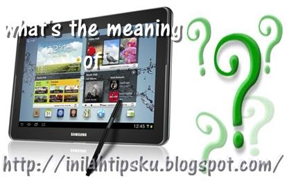 Pengertian Tablet PC