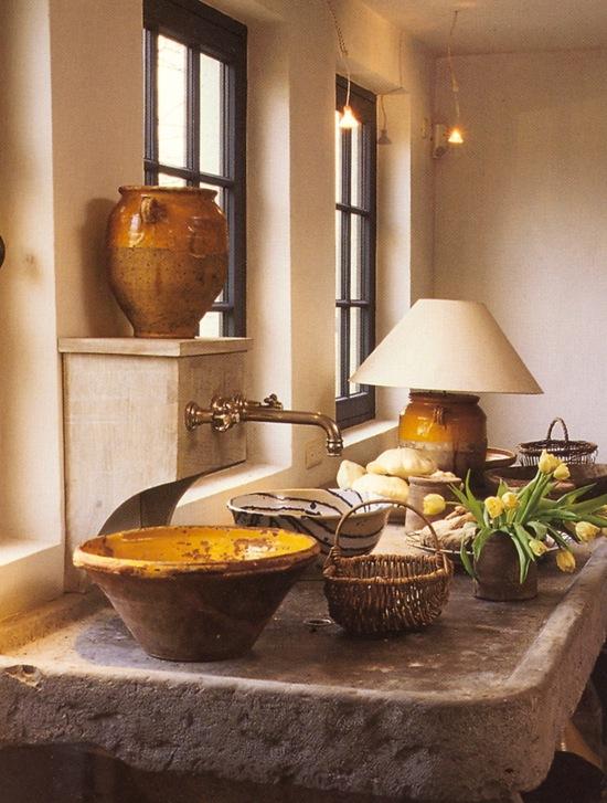 COUNTRY VILLA DECOR: Country Kitchen Decorating Ideas