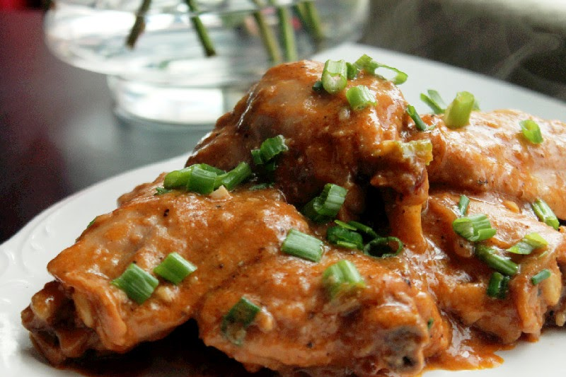 Creole Contessa: Slow Cooker Smothered Chicken with ...