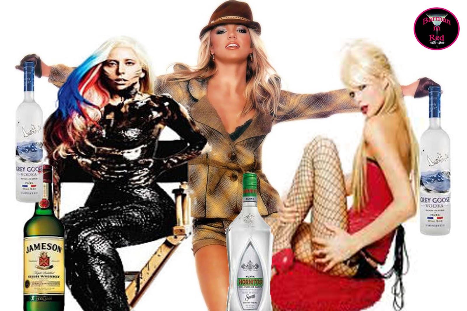 qué beben los famosos