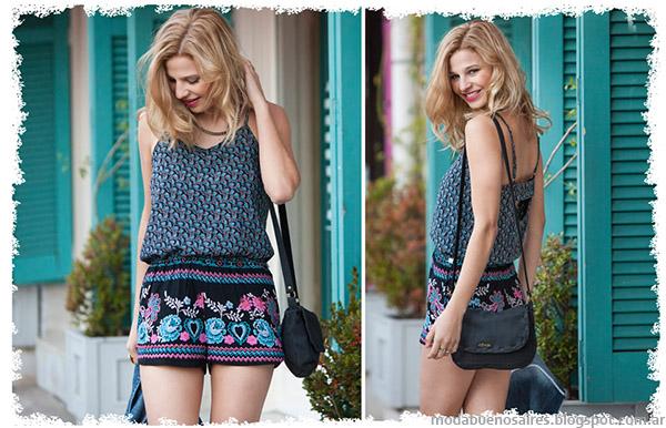 Moda 2015. Monos tendencias de moda verano 2015 Doll Fins.