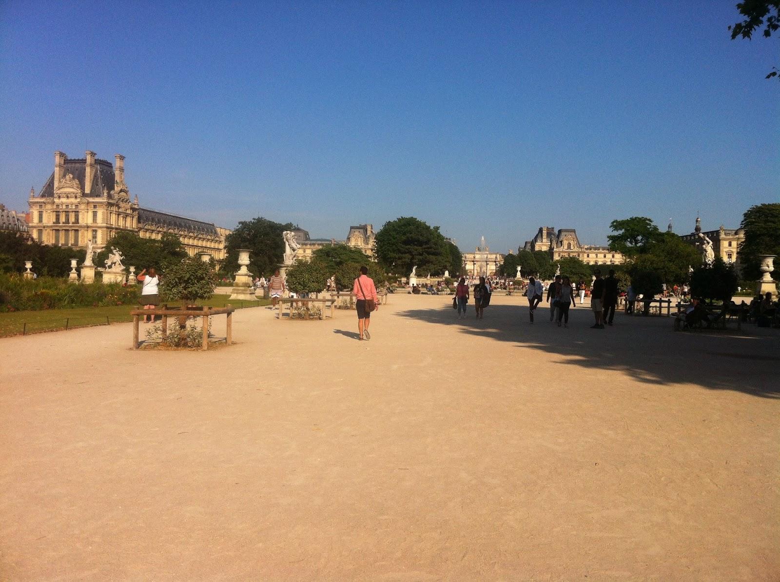 Tuilerie bahçesi müze