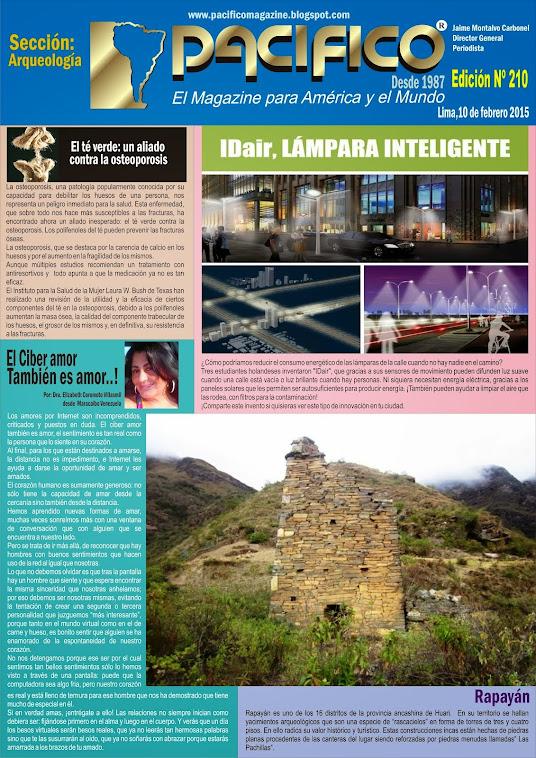 Revista Pacífico Nº 210 Arqueología