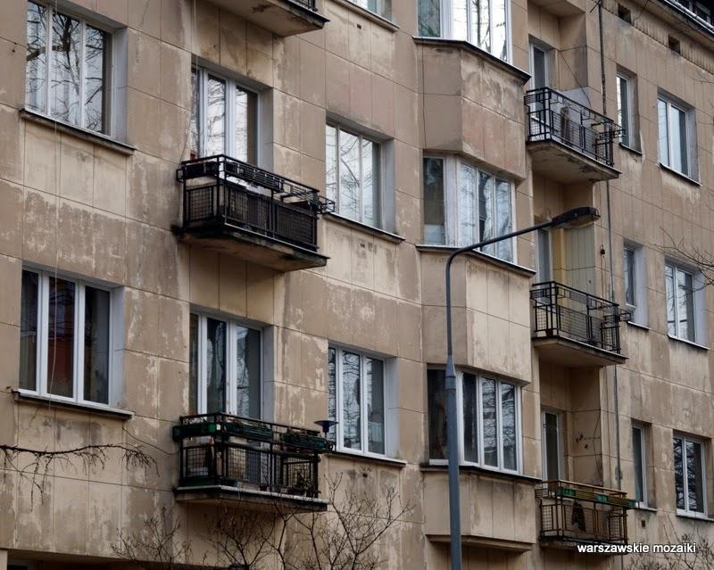 Kamienica Warszawa Mokotów Sigalin modernizm BOS Warsaw