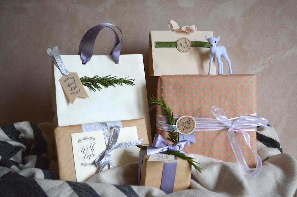 Christmas Gift Wrap Bags Part - 30: CHRISTMAS DIY: Gift Wrap + Bags