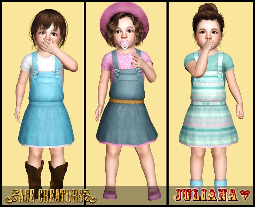Sims 3 summer dress lookbook