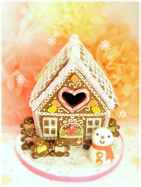 Cherie Kelly's Gingerbread House