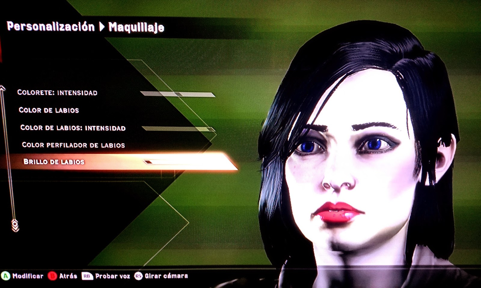 demo dragon age inquisition maquillaje