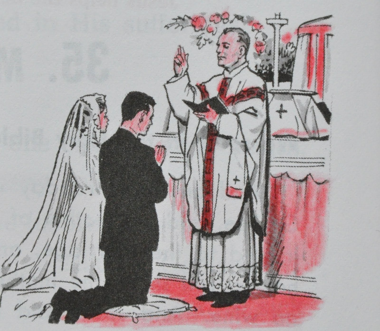 sacrament of matrimony The sacrament of matrimony the matrimonial covenant, by which a man and a  woman establish between themselves a partnership of the whole of life, is by its.