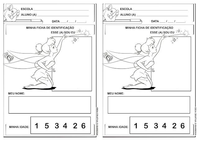 Atividade - Ficha de Identificação - Projeto Identidade e Autonomia