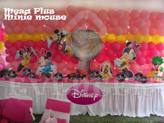 Decoración de fiestas infantiles con motivo de Minnie - Imagui