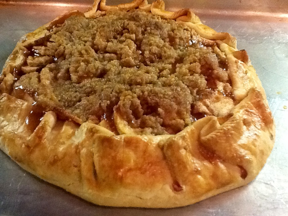 Kitty's Kozy Kitchen: Rustic Apple Tart