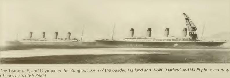 Dr samuel banda los gemelos del titanic los barcos de la clase olympic - Construccion del titanic ...